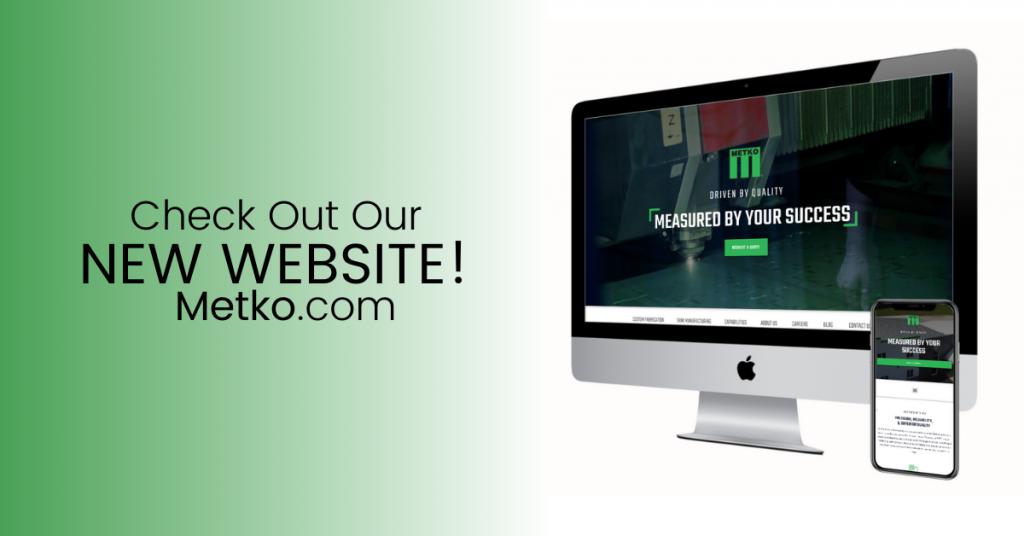 Metko Website Announcement